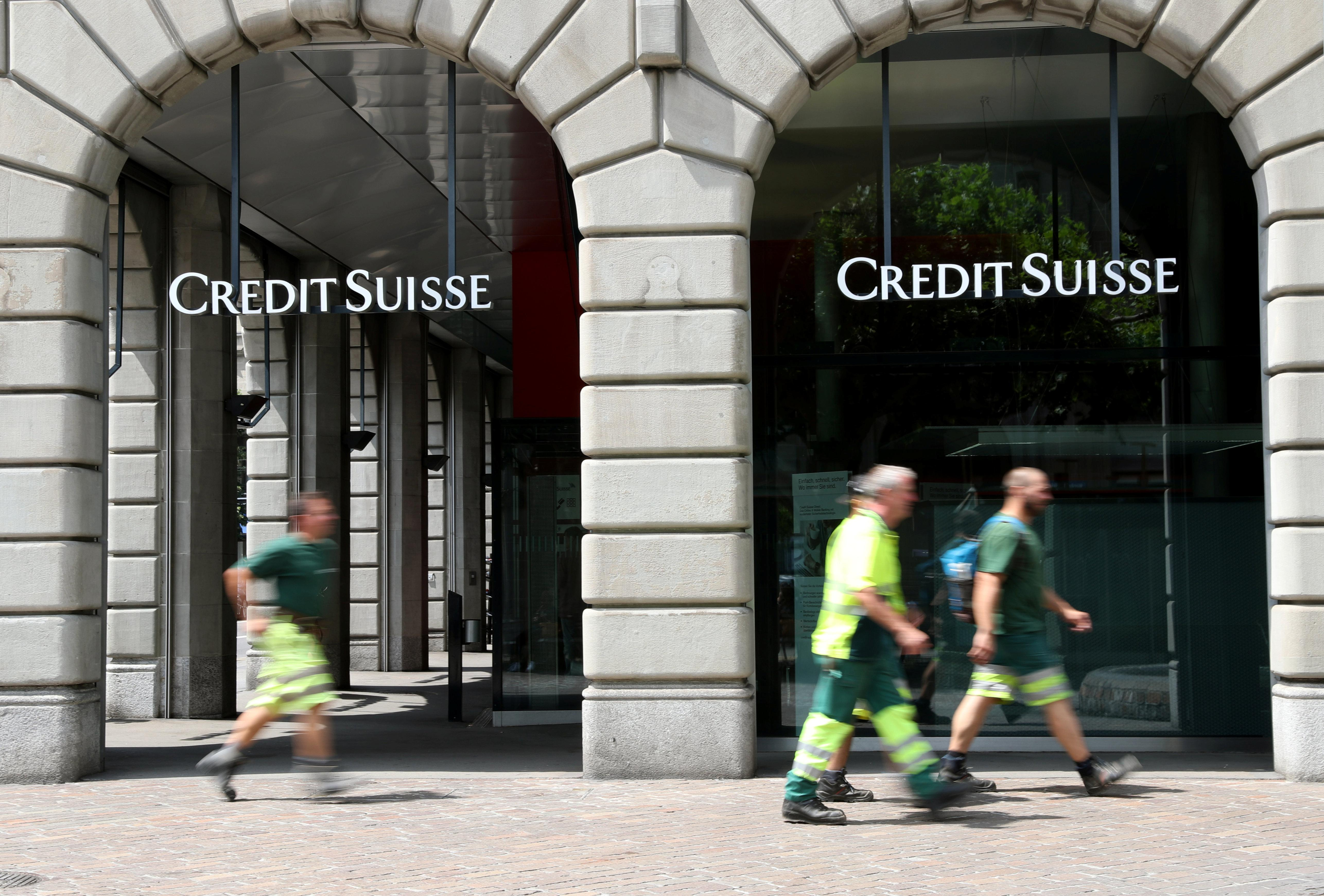 Out-of-whack Credit Suisse security puzzles volatility traders