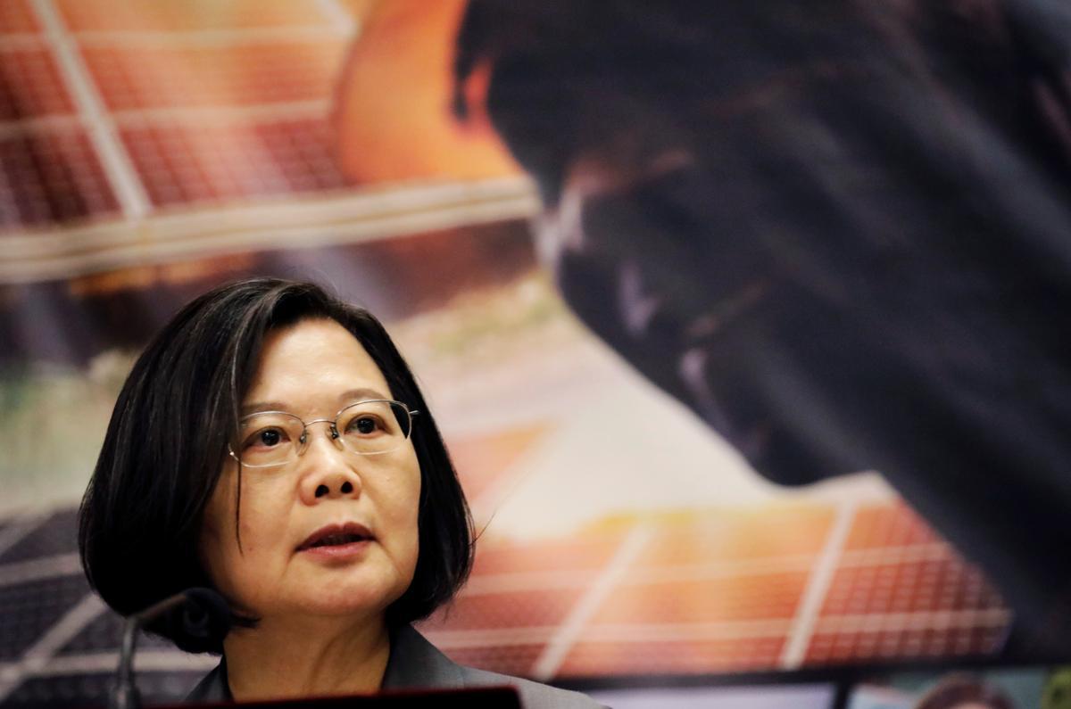Die president van Taiwan veroordeel China se 'dollar-diplomasie', omdat Salomo-eilande trou na Beijing oorskakel