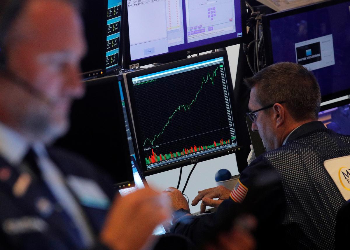 Wall Street hit by Saudi attacks; energy stocks temper losses