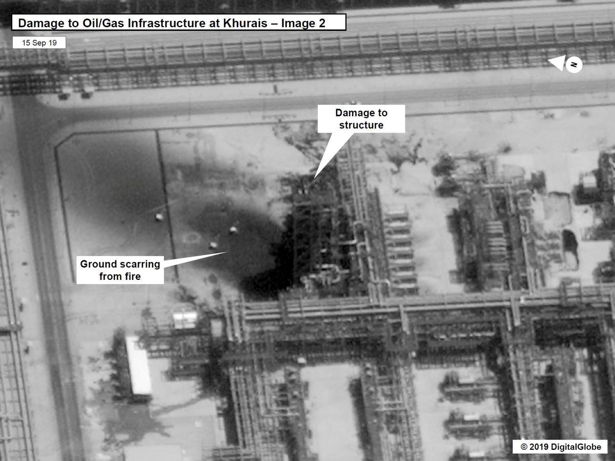Trump sê hy wil nie oorlog hê ná aanval op Saoedi-olie-fasiliteite nie