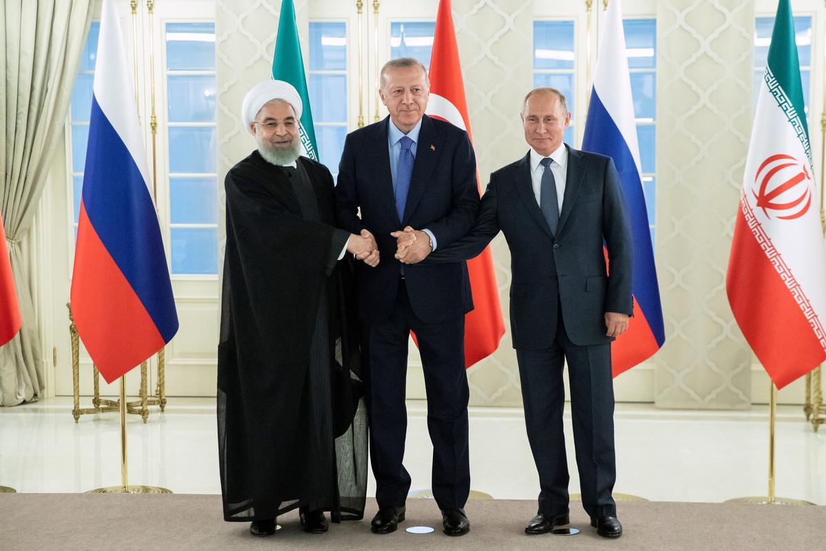 Iran sê dat diplomasie slegs 'n oplossing vir Sirië-krisis by Turkye is, praat Rusland