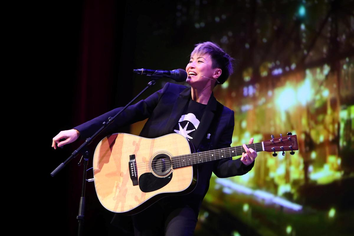 Stand up to Beijing, Hong Kong singer tells U.S. lawmakers, companies