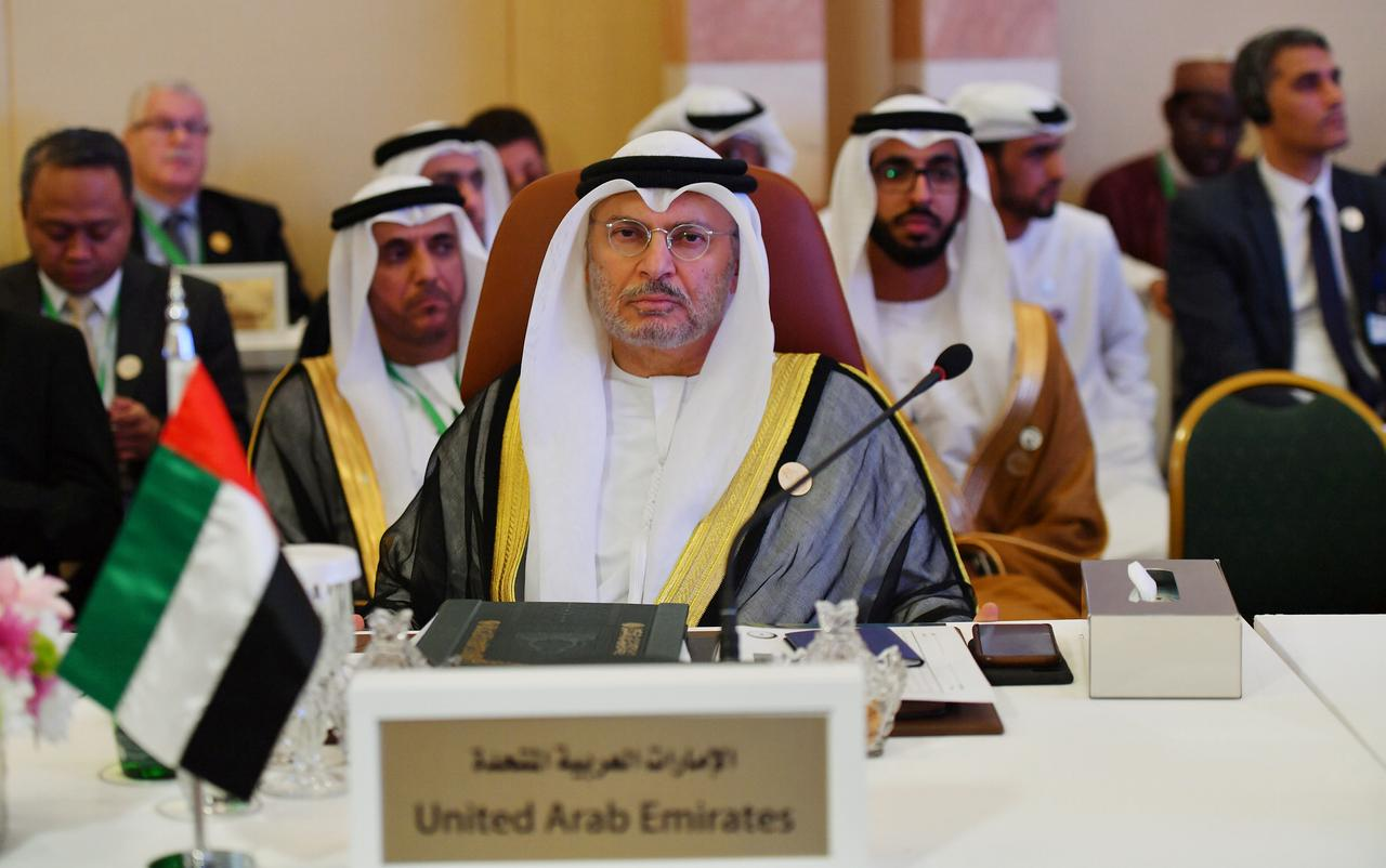 Image result for UAE minister says international community must stand by Saudi Arabia after attacks