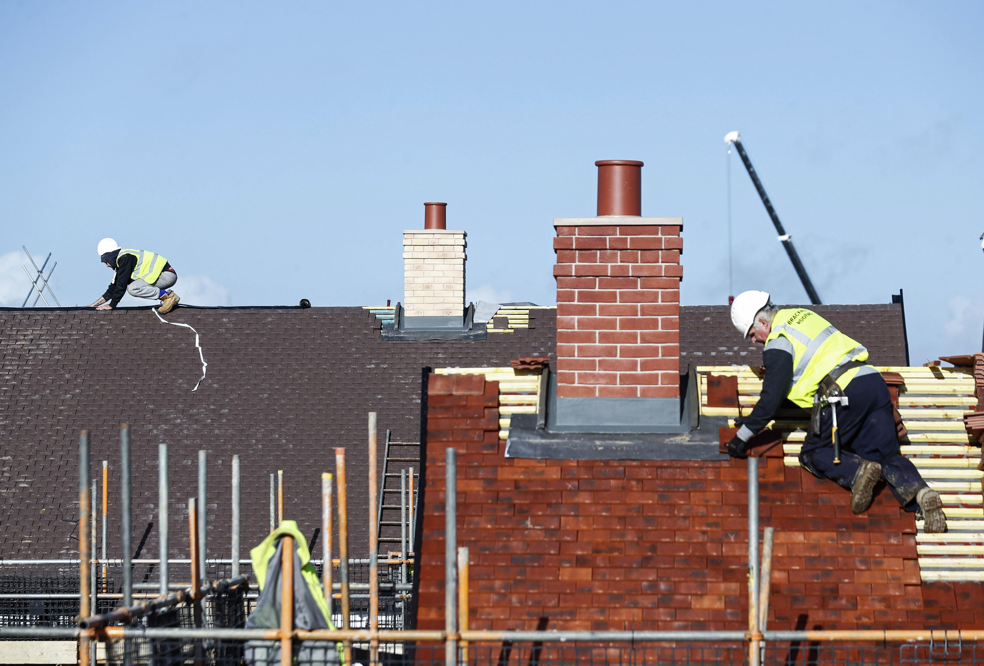 UK housebuilders fall after government report criticises Help to Buy scheme