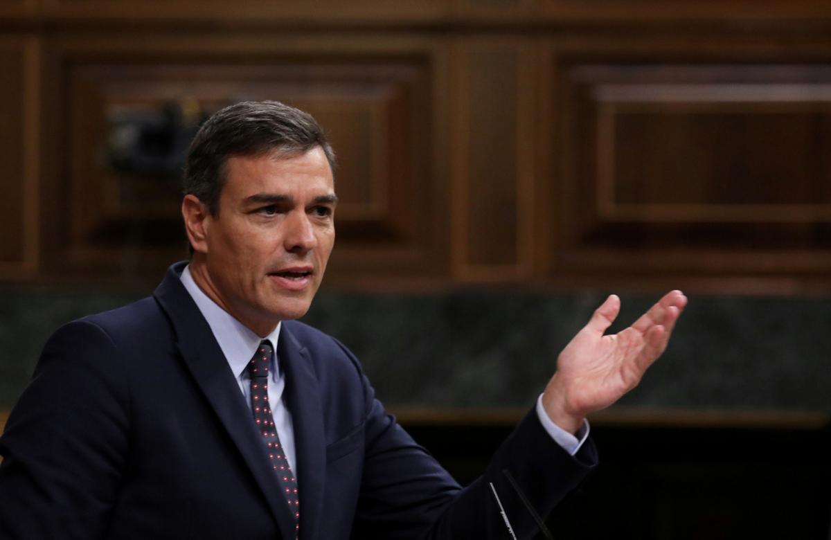 Spaanse partyleiers in die laaste-sloot gesprekke as die sperdatum val