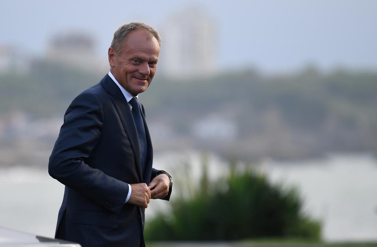 EU se Tusk dring daarop aan om die samesprekings met die bure van die Balkan terug te voer