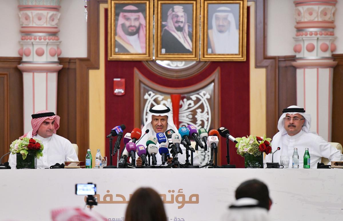 Saoedi-Arabië se olievoorraad is weer aanlyn: minister van energie