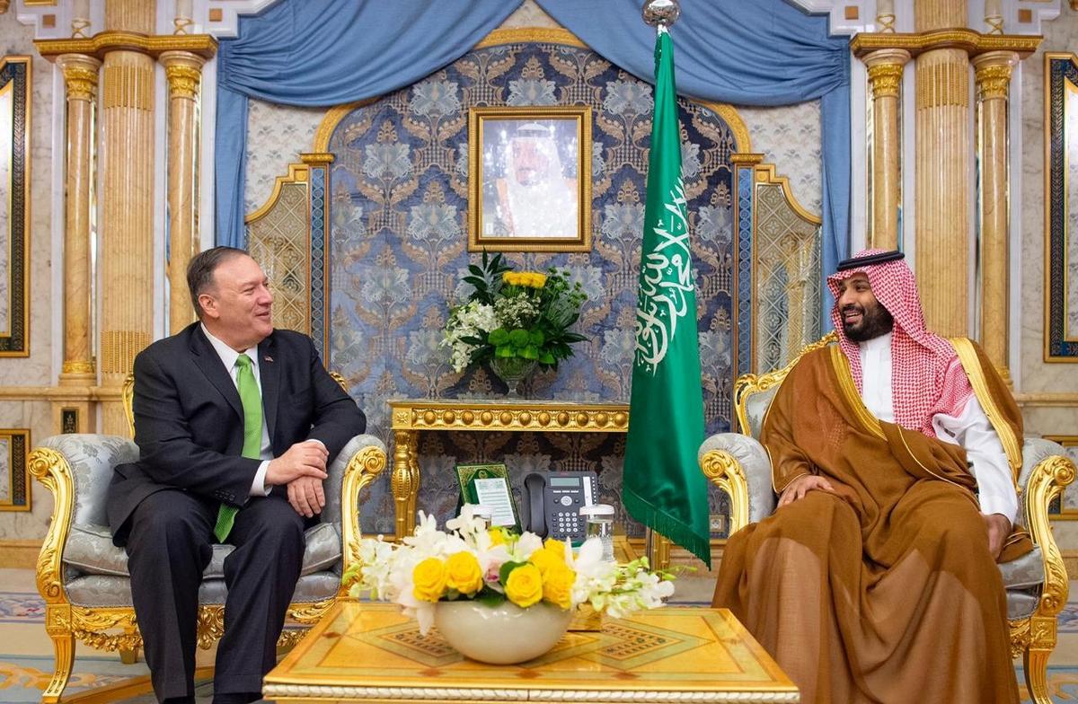 Pompeo sê die VSA steun Saoedi-Arabië se reg om homself te verdedig: tweestryd