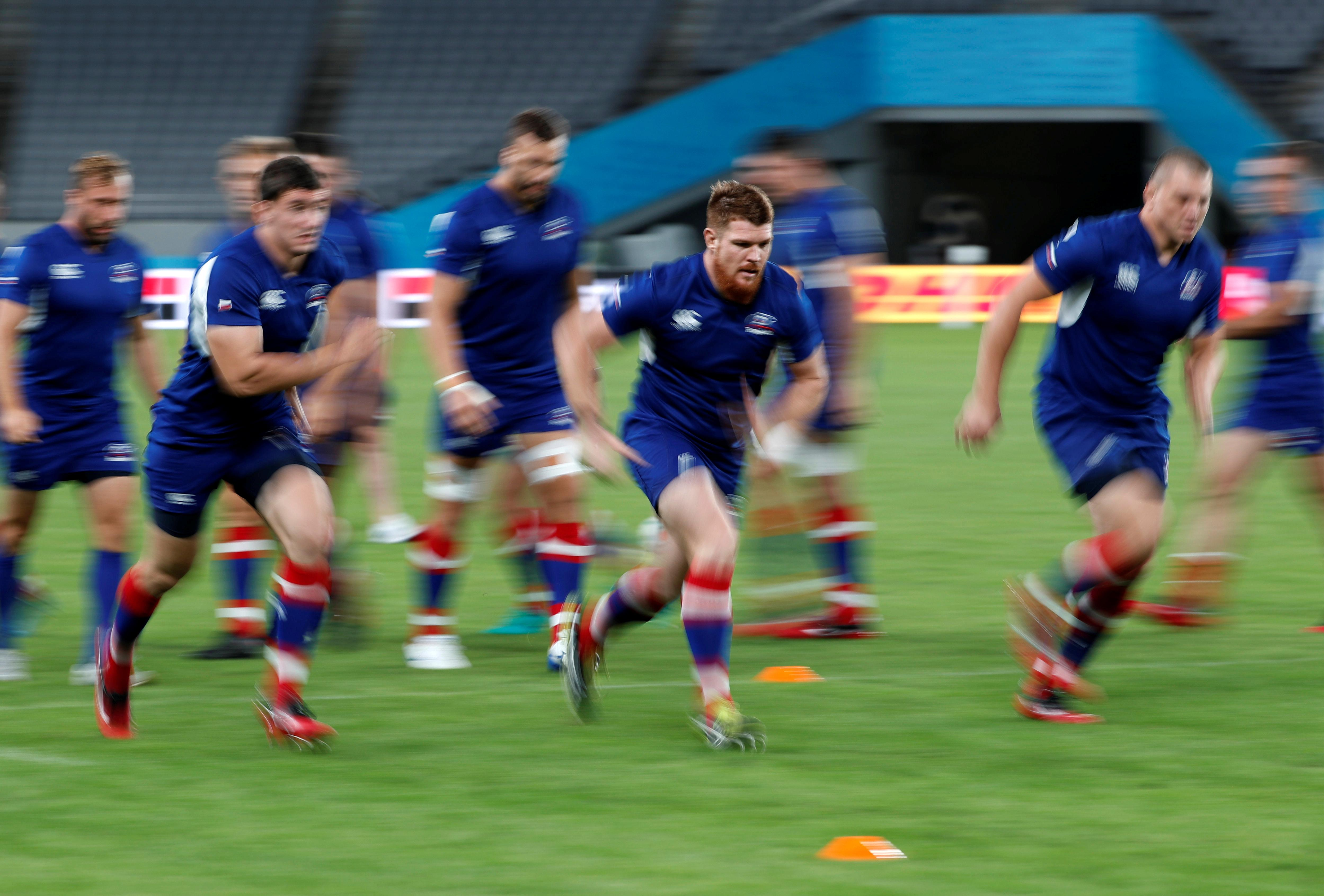 Russia hope physicality can make them party-poopers in World Cup...