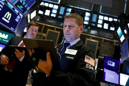 Wall Street ends mixed as Microsoft, Apple offset