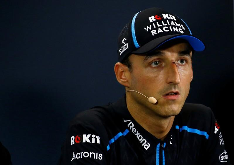 Motor racing: Kubica to leave Williams at end of F1 season