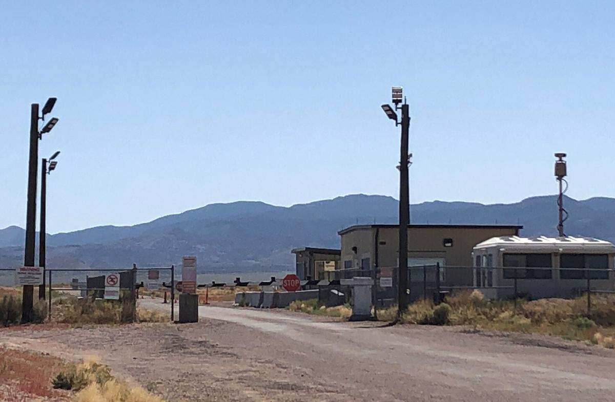 Alien enthusiasts gather in Nevada desert near secretive Area 51