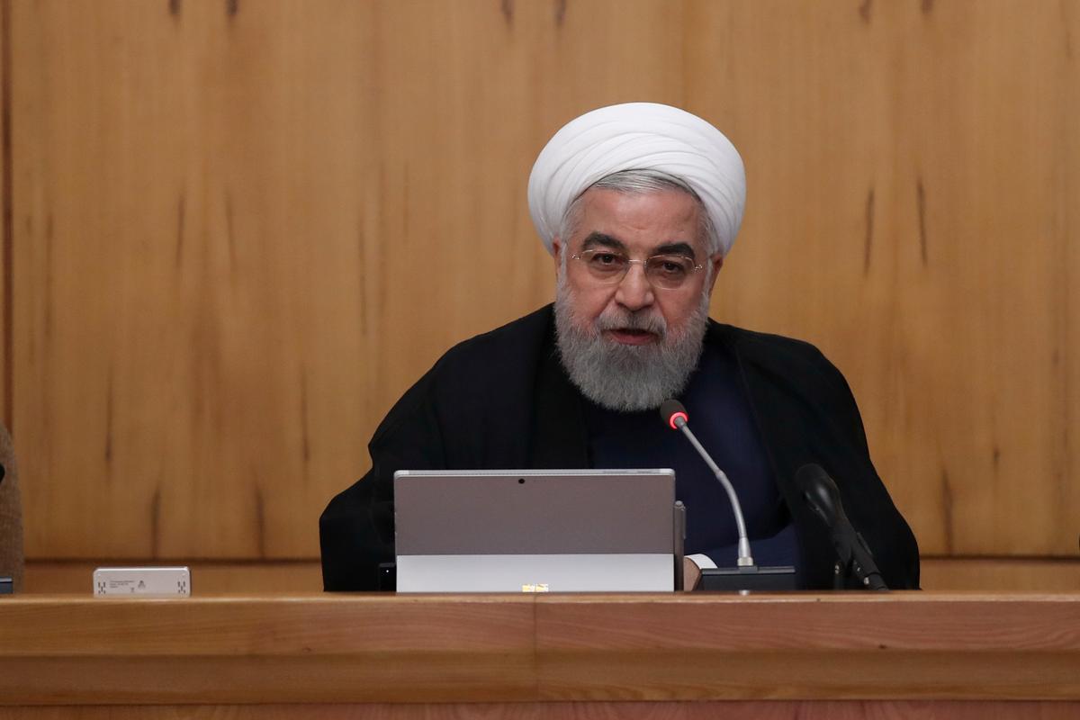 As die kans op Trump verval, sal Rouhani se vergadering by die VN vervaag, word die bespreking na die Veiligheidsraad