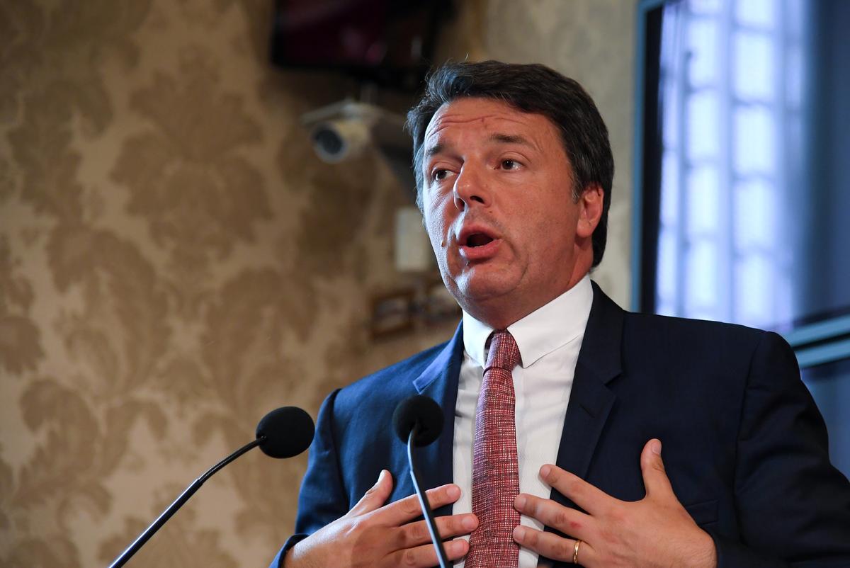 Italië se Renzi staan op die opdraande pad om gematigde stemme te behaal: pollsters