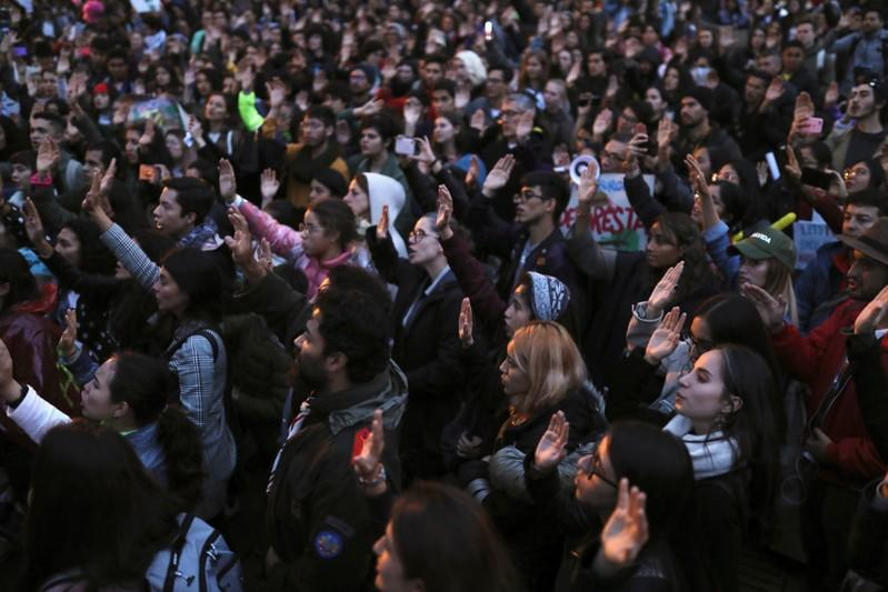 Adults swell ranks of students marching in record global climate...
