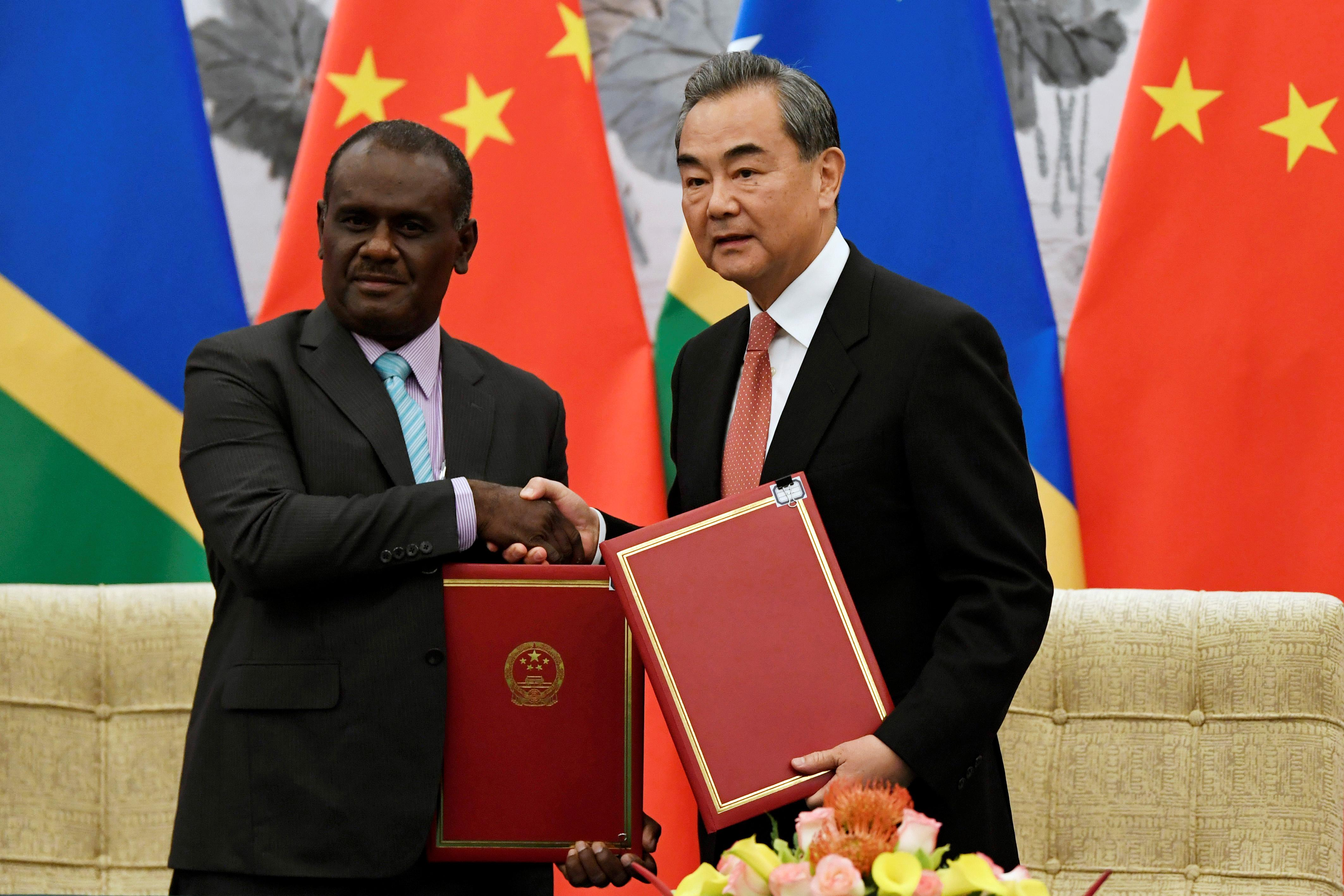 China's Pacific influence grows as it signs up new friend in...