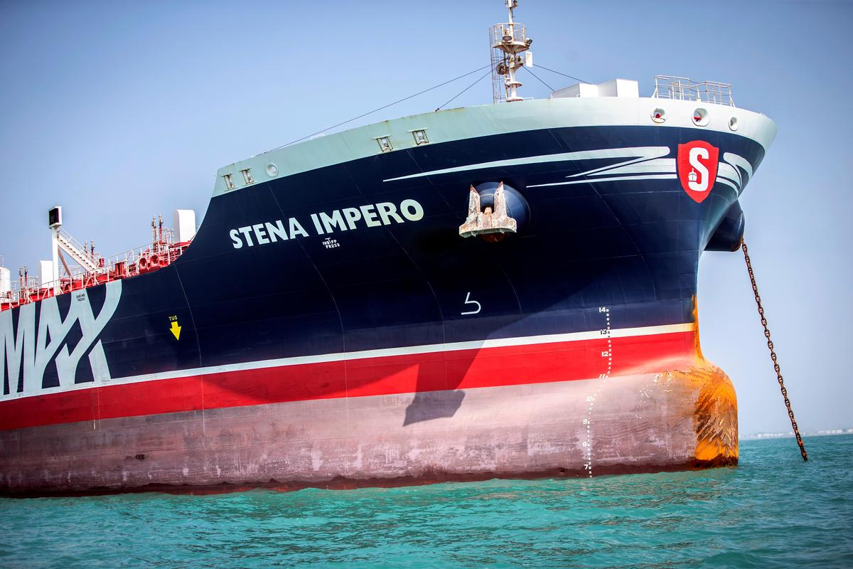 Iran mag binne enkele ure die Britse vlagskip laat vaar, sê die Sweedse eienaar: SVT