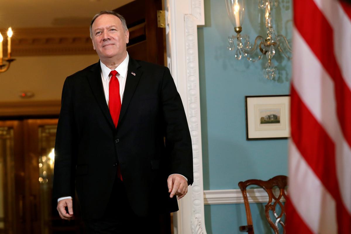 Pompeo sê die Amerikaanse missie is om oorlog met Iran te vermy, maar maatreëls om af te skrik