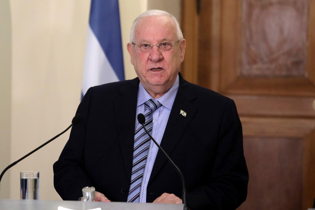 Israel se president sweef eenheidsregering tussen Netanyahu en Gantz