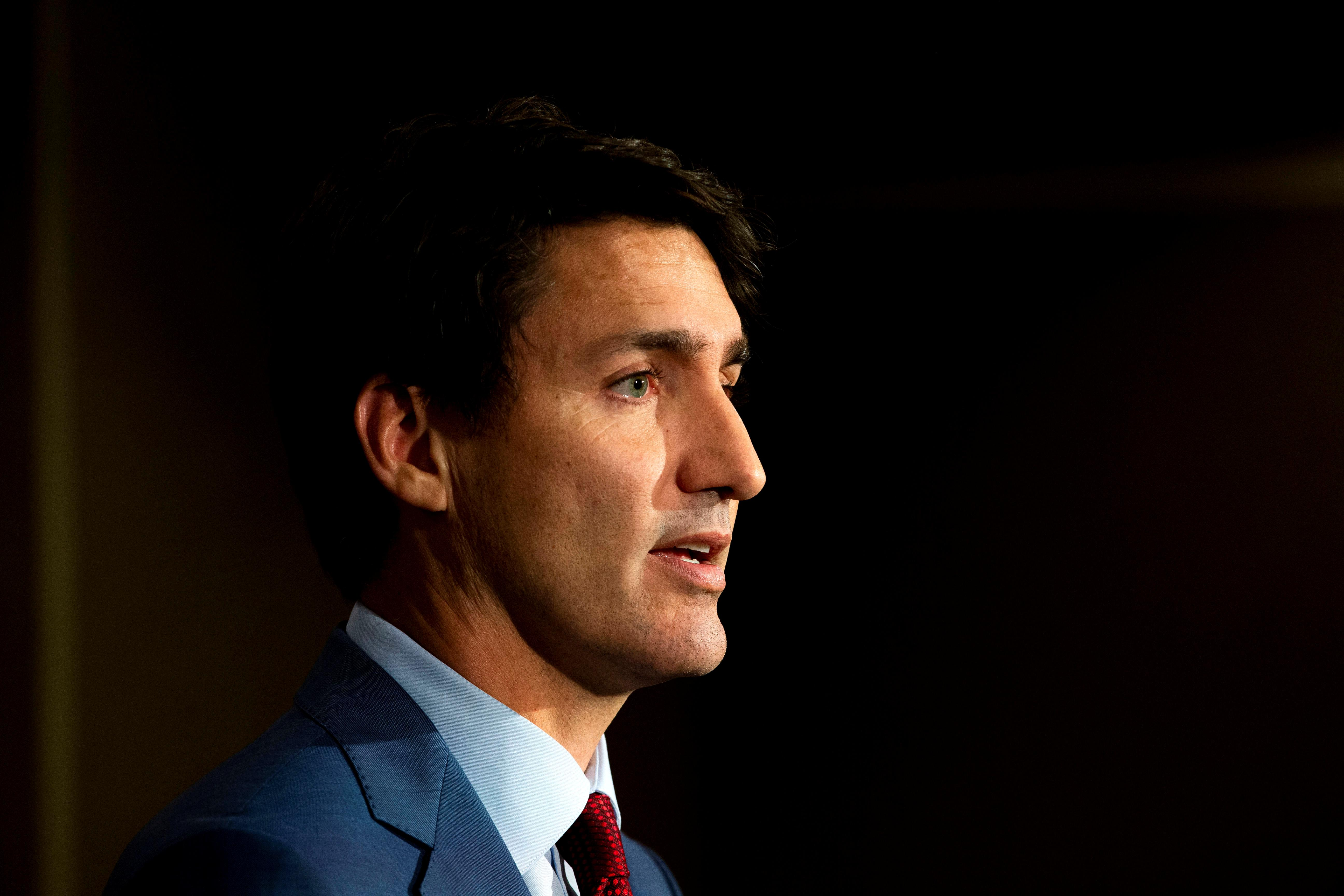 Canada's Trudeau pledges lower taxes, cellphone costs as blackface...