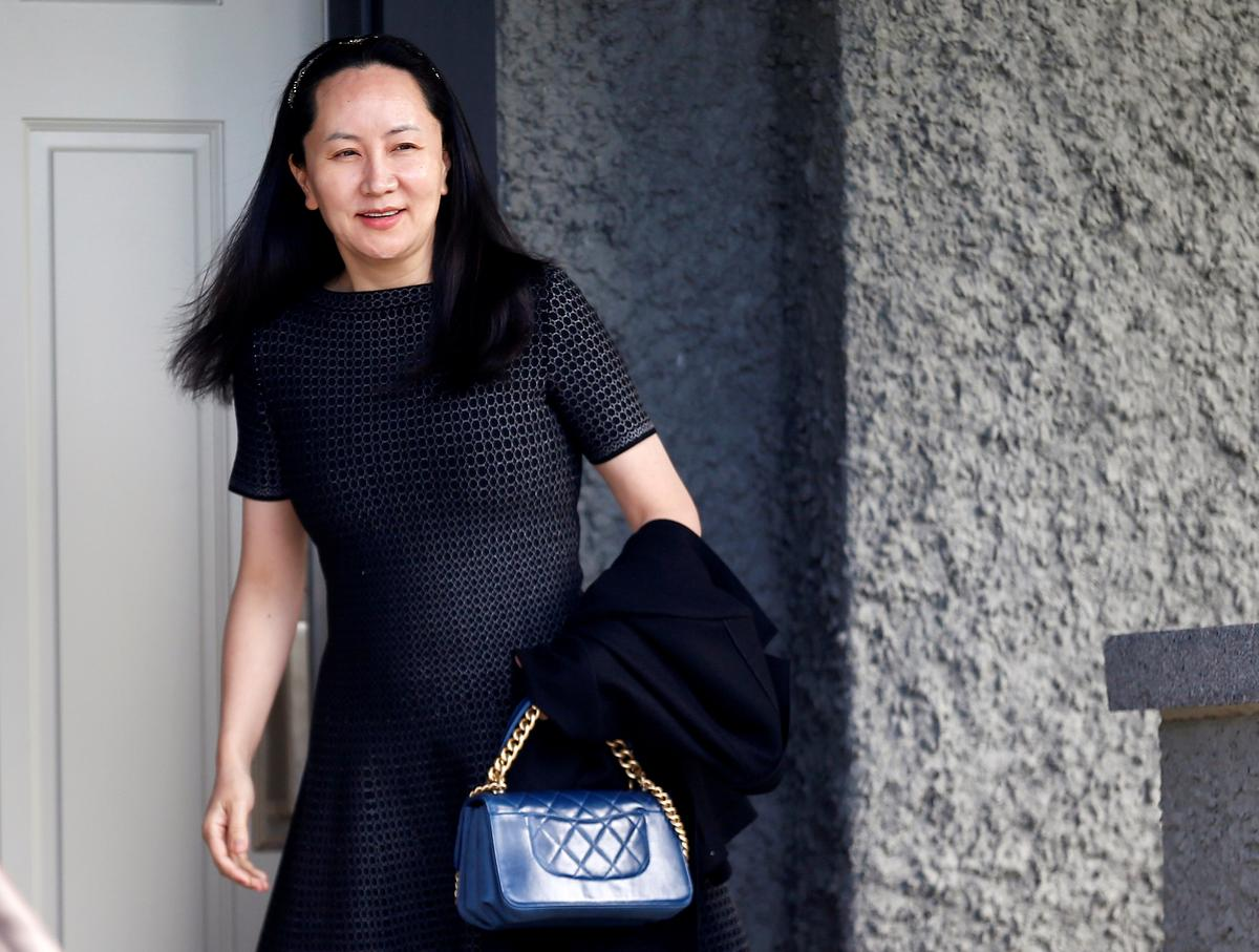 Huawei CFO's arrest at airport to be focus of Vancouver hearing