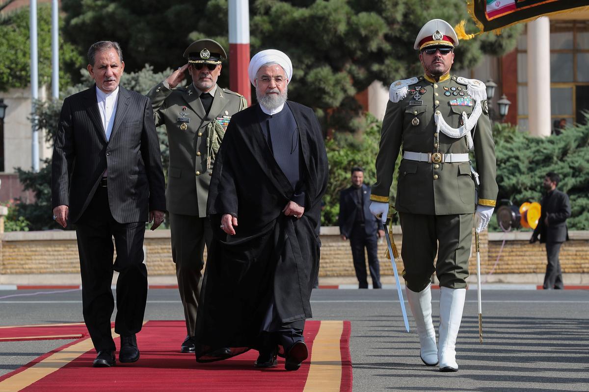 """Rouhani sê Iran weerstaan sanksies, dryf die Amerikaanse """"e; desperate"""" e;"""