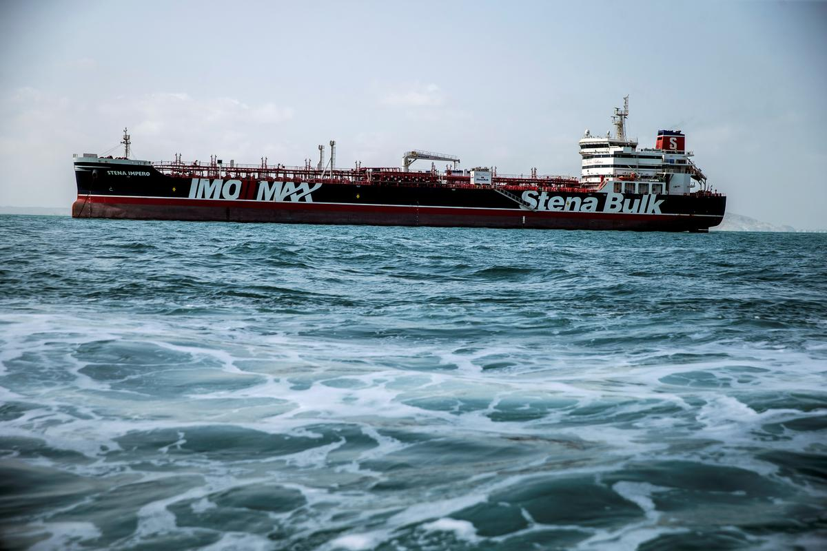 Die Britse tenkskip Stena Impero is vry om te vertrek na afloop van die geregtelike en regsproses: Iran se ambassadeur in die Verenigde Koninkryk