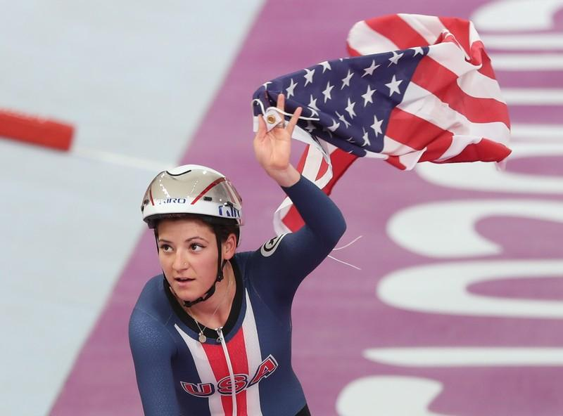 American Dygert crushes Dutch duo to win time trial gold