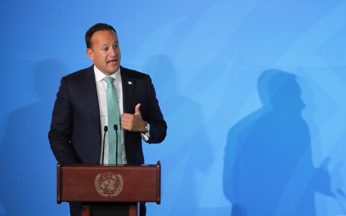 Die Varadkar van Ierland sê geen Brexit-ooreenkoms is in die vergadering met premier Johnson bereik nie