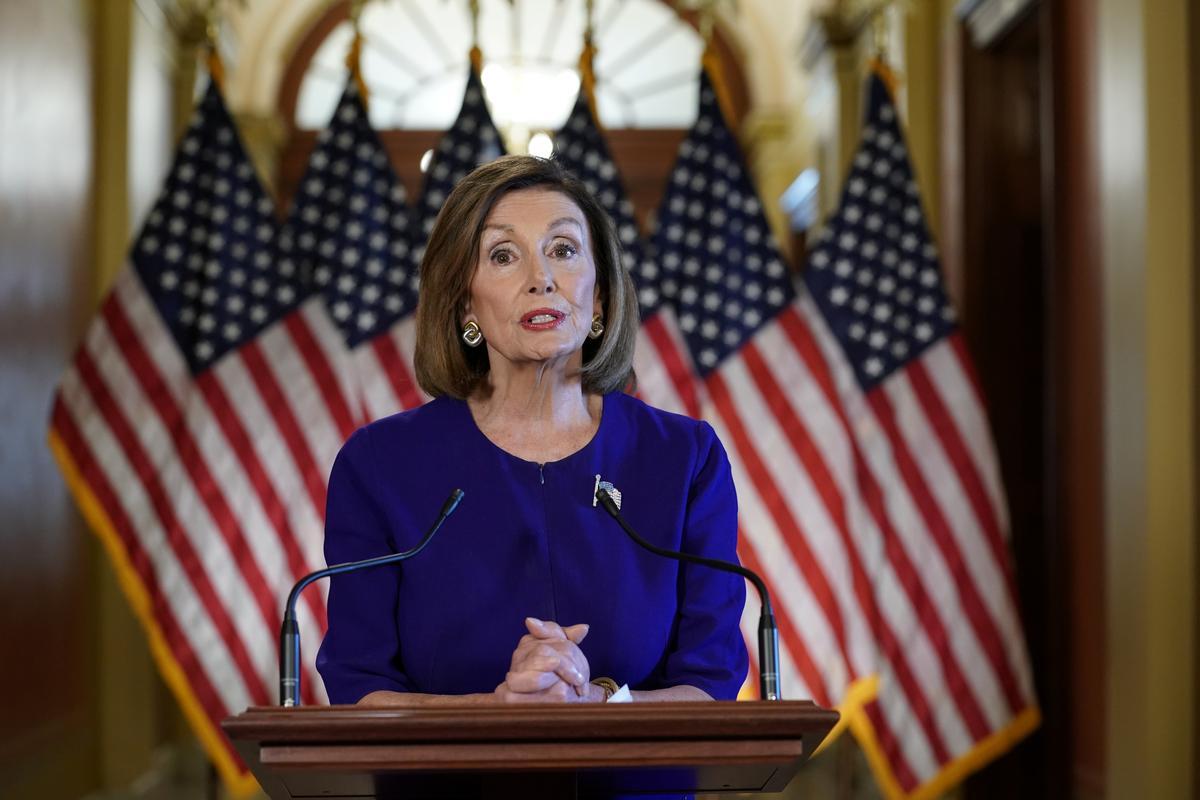 Huis sal met die ondersoek na Trump: Pelosi begin