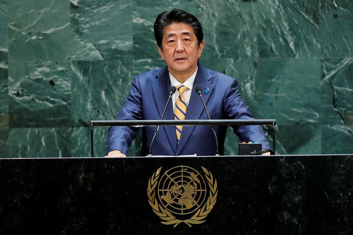 Japannese Abe versoek Iran om aksies te neem wat 'gegrond is in wysheid'