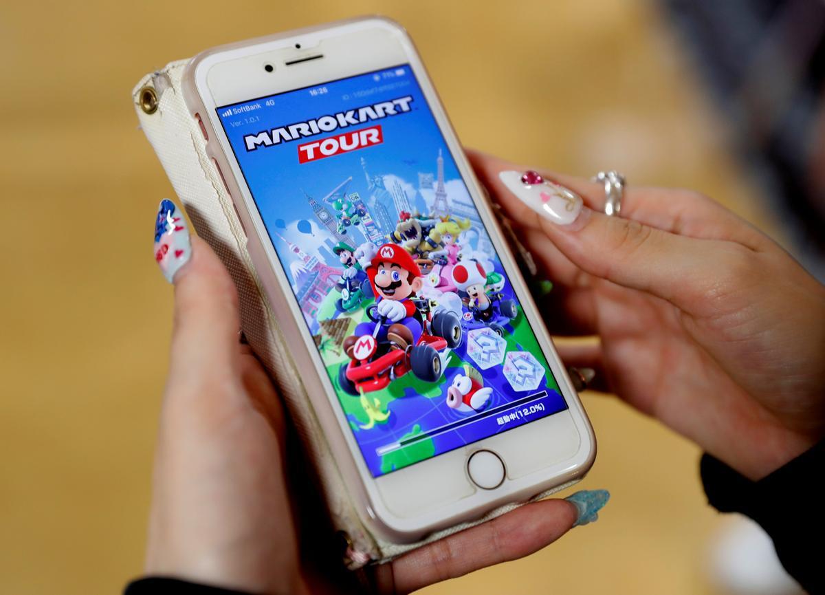 Nintendo se Mario-mobiele spel het oorlaai op die bediener op die bekendstellingsdag