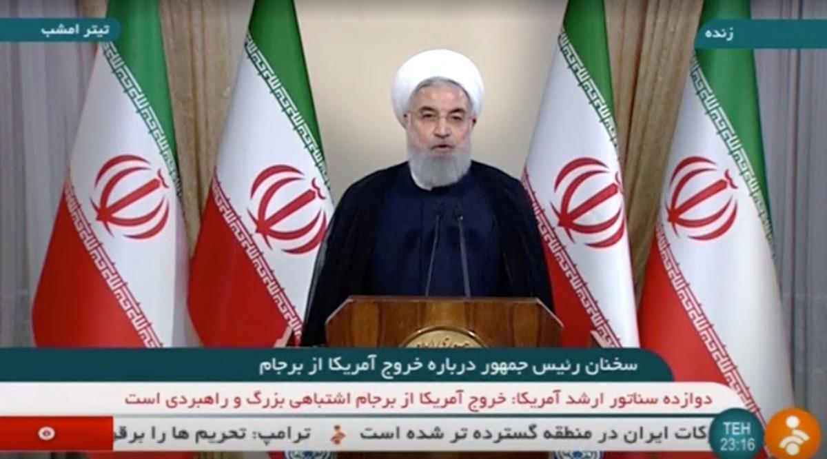 Iran is gereed om veranderinge in die kernooreenkoms te aanvaar as die Amerikaanse terugkeer, die sanksies ophef: woordvoerder