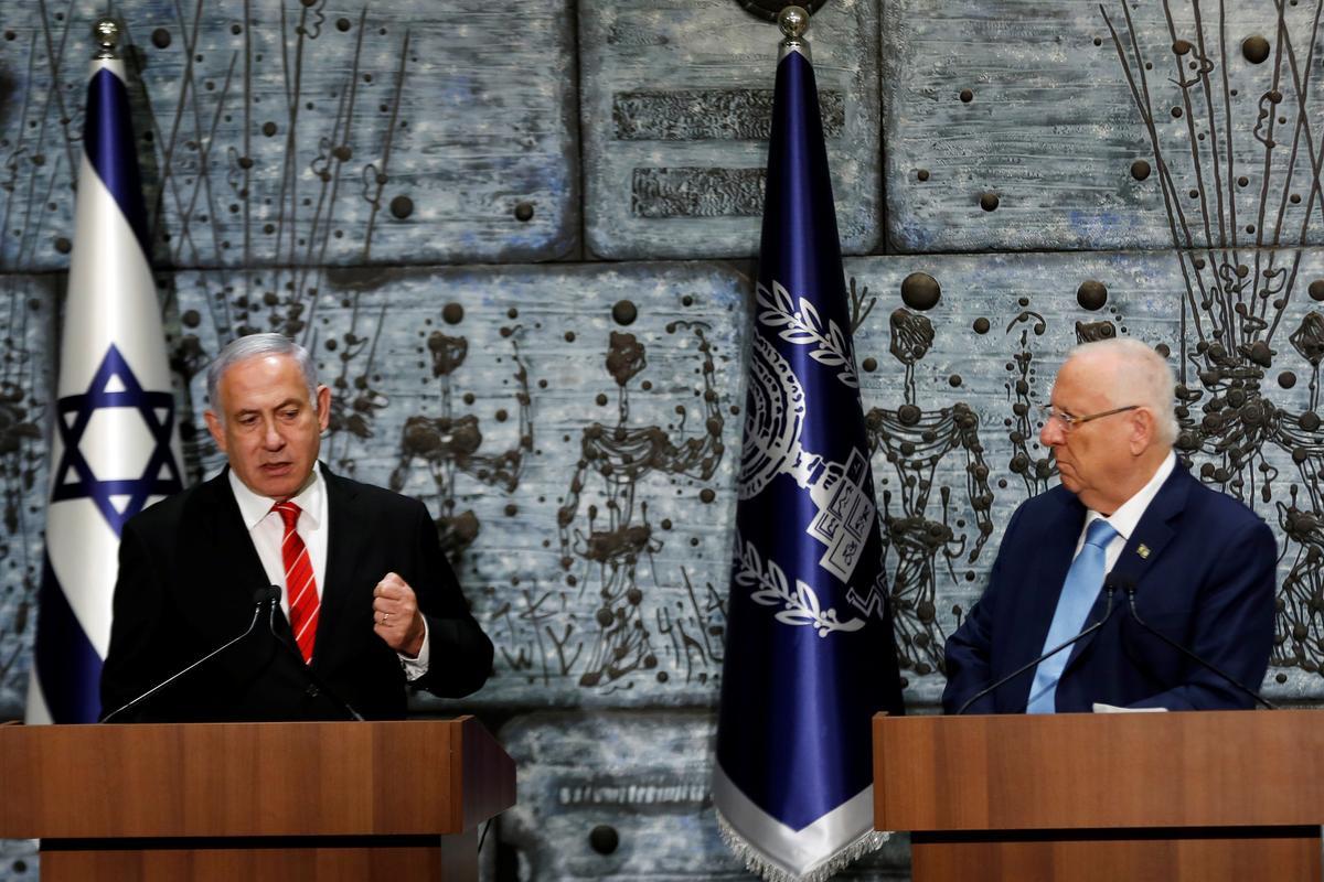 Netanyahu het deur die president van Israel getik om 'n nuwe regering te vorm