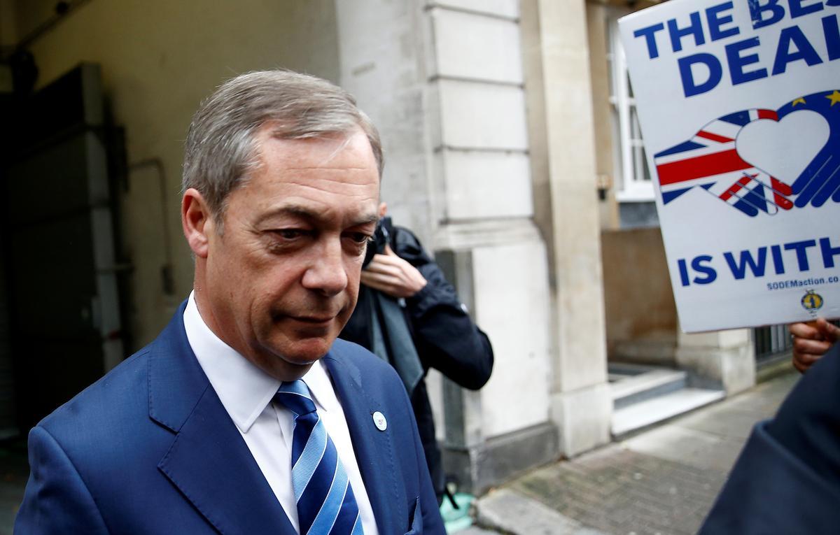 Die bes betaalde Europese wetgewers? Die Brexit-party