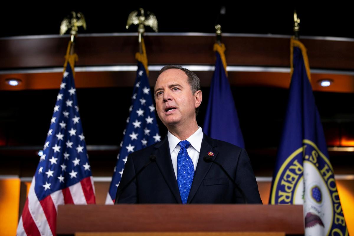 Die Amerikaanse paneel se voorsitter, Schiff, sê klagte van die klokkenluider is ontstellend