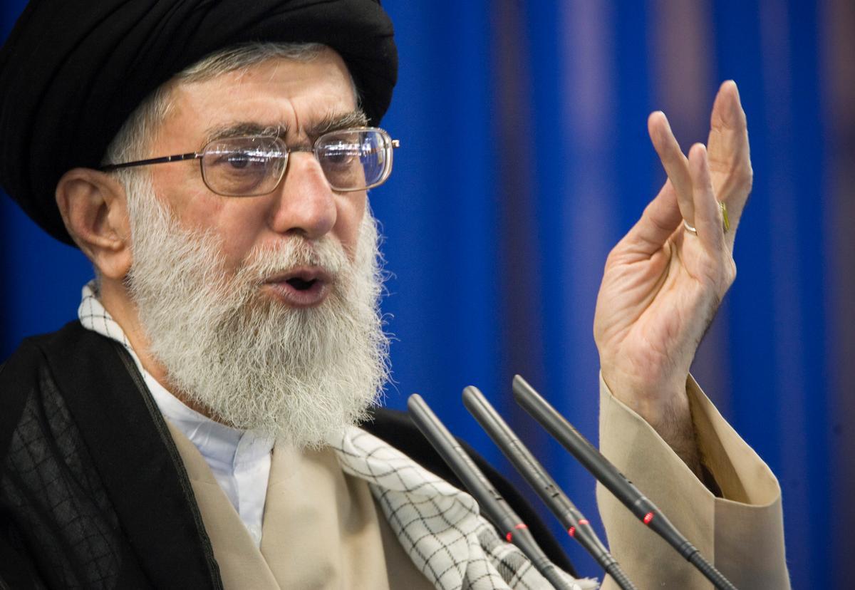 Khamenei says Iran should give up hope of European help against U.S. sanctions