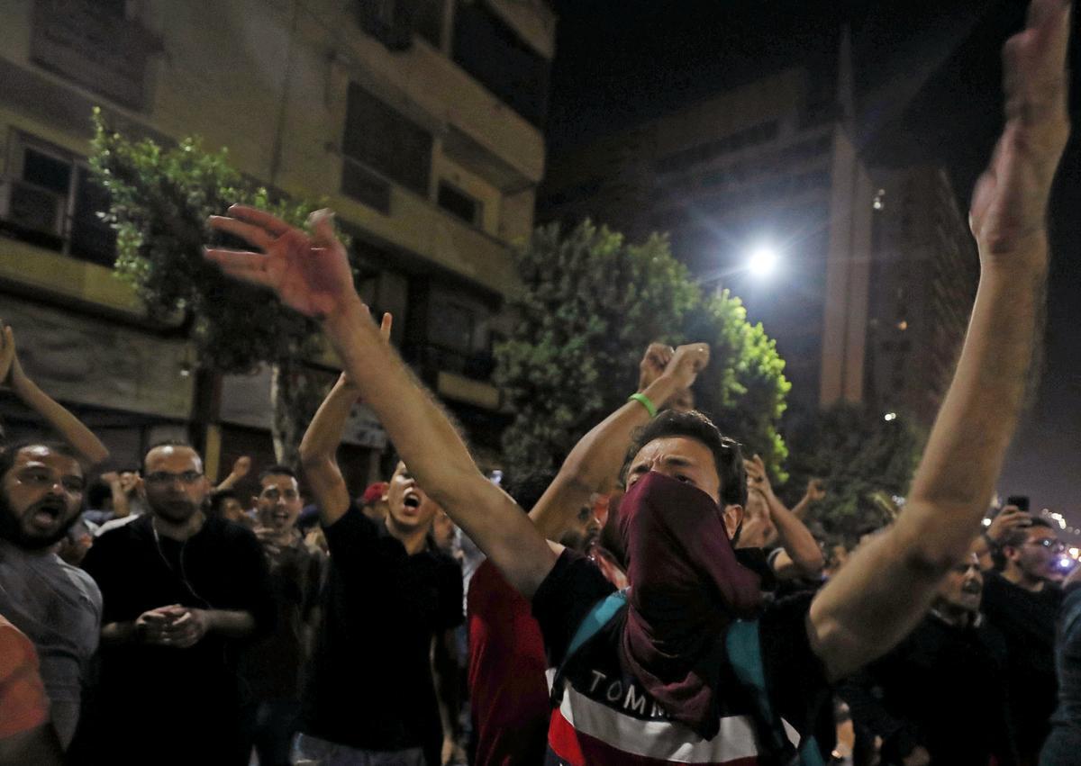 Crackdown verbreed na 'n beroep op nuwe betogings in Egipte