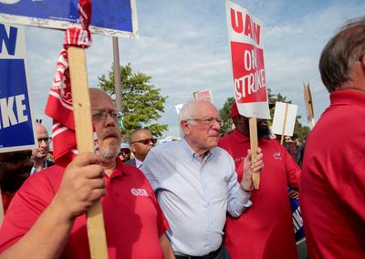 2020 candidates court the union vote