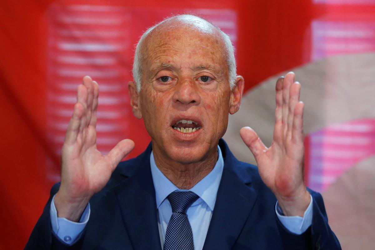 In Tunisië sê Saied die gevangenskap van mededinger maak hom ongemaklik