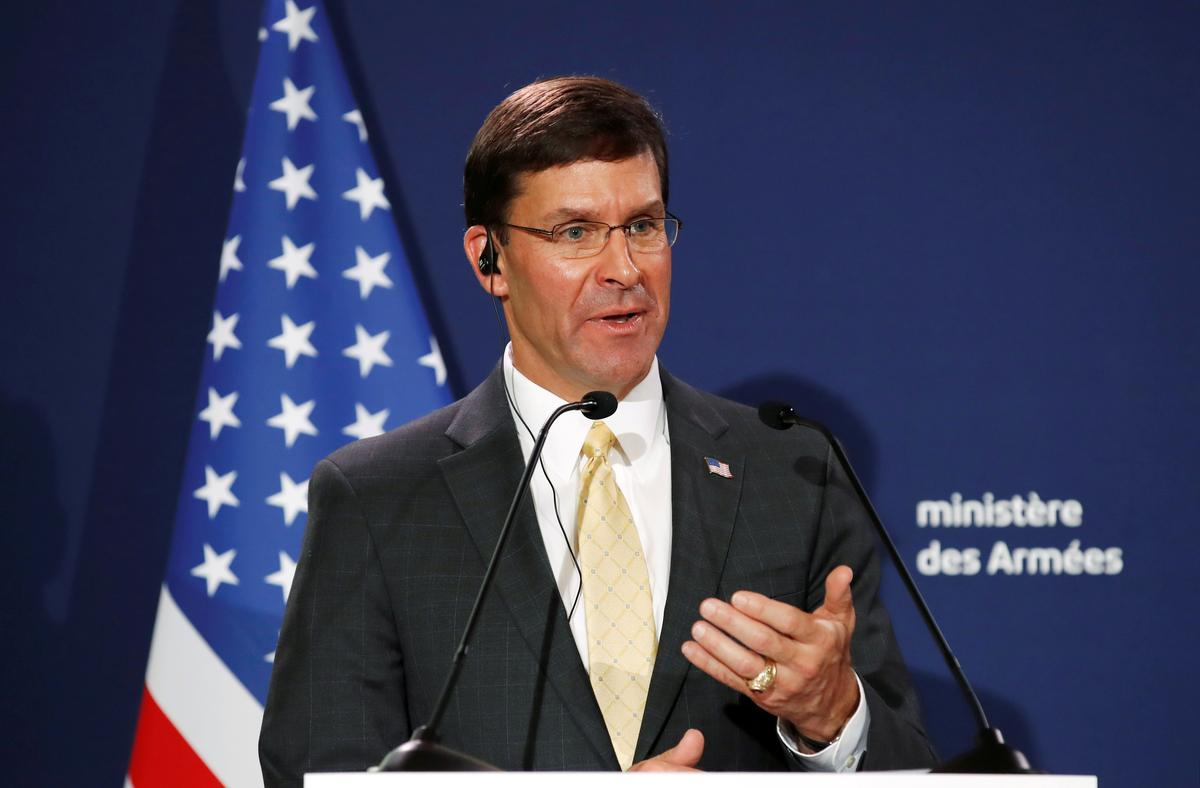 Delay in aid to Ukraine did not affect national security: Esper