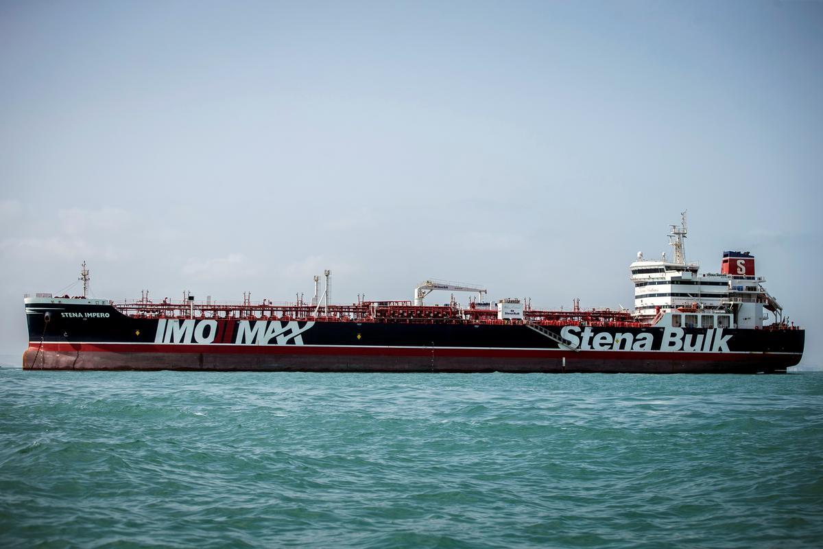 Britse tenkwa wat in Iran gehou word, kom in die hawe van Dubai in: Refinitiv-data rakende die opsporing van skepe