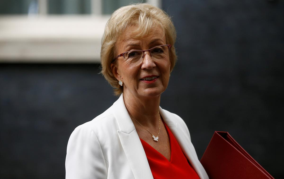 UK business secretary Leadsom says economy could withstand a no-deal Brexit: FT