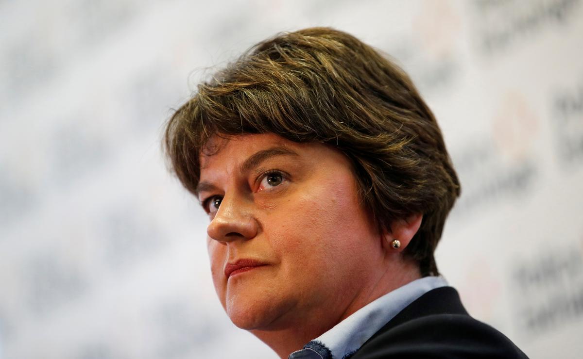 Noord-Ierland se DUP-leier, Foster, steun die Brexit-stoot van premier Johnson
