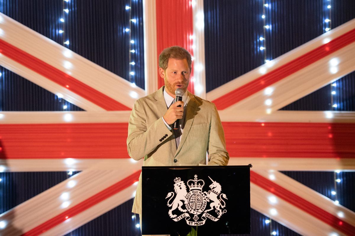 Prins Harry van die Verenigde Koninkryk eis 'n einde aan 'gierigheid en selfsug' ter wille van die natuur
