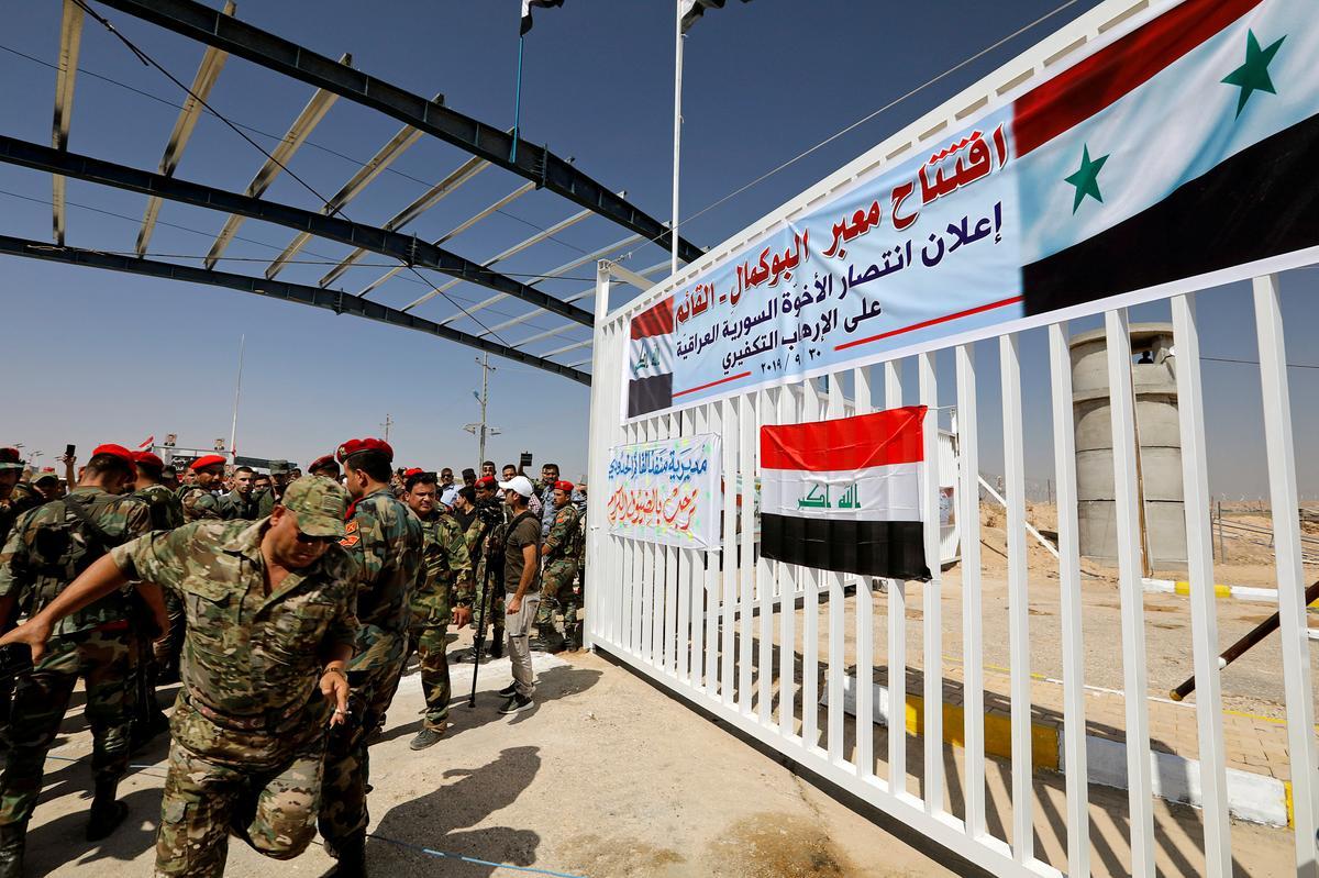 Irak heropen Sirië se kruising in die oorwinning vir onderlinge bondgenoot Iran
