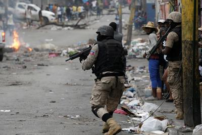 Deadly anti-government protests in Haiti