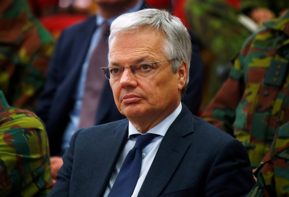 België se keuse vir die EU-kommissie staar nuwe beskuldiging van ente in die gesig