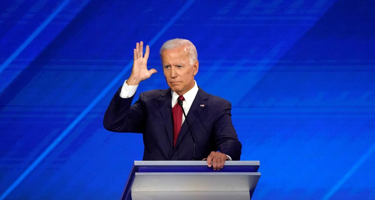 Democrat Biden will seek if elected to ban assault rifles but not force owners to sell them