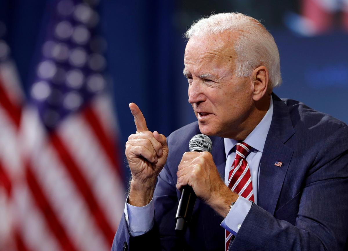 Biden to Trump: 'You're not going to destroy me'